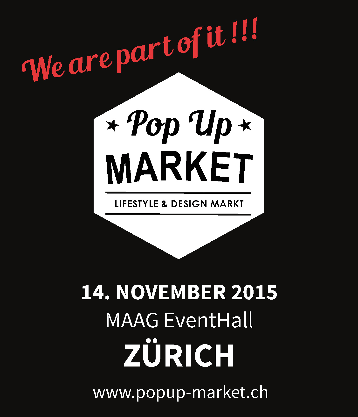 Pop Up Market 14.11.2015